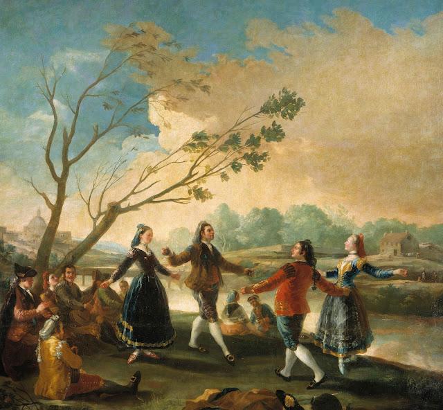 Francisco de Goya - Baile a orillas del Manzanares - 1776-77