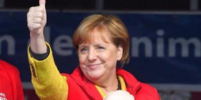 A - GLOBAL: Germany's Merkel Wins Fourth Term