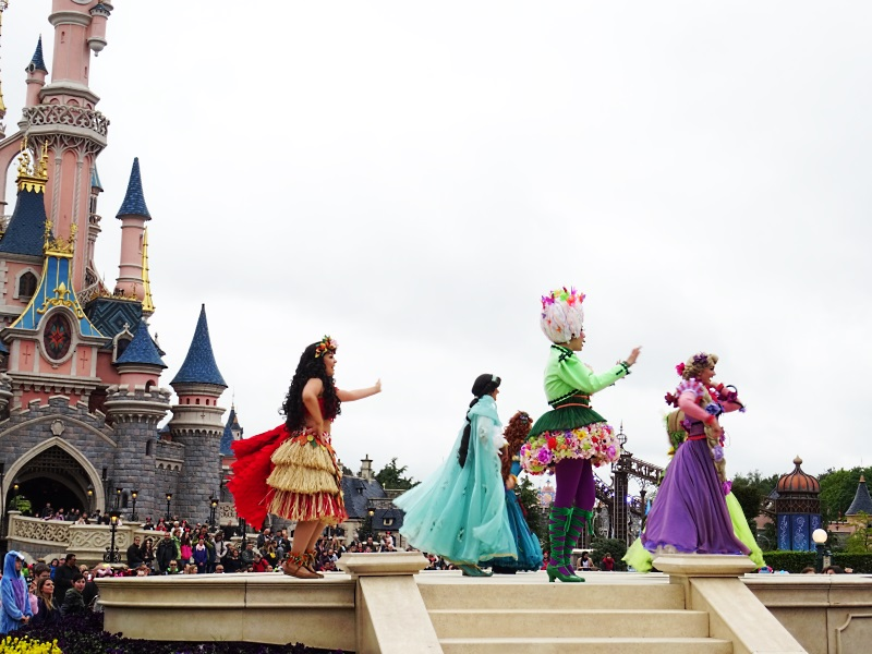 Parade des princesses à Disneyland Paris