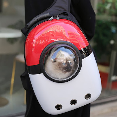 Pokeball Cat Dog Spacecraft