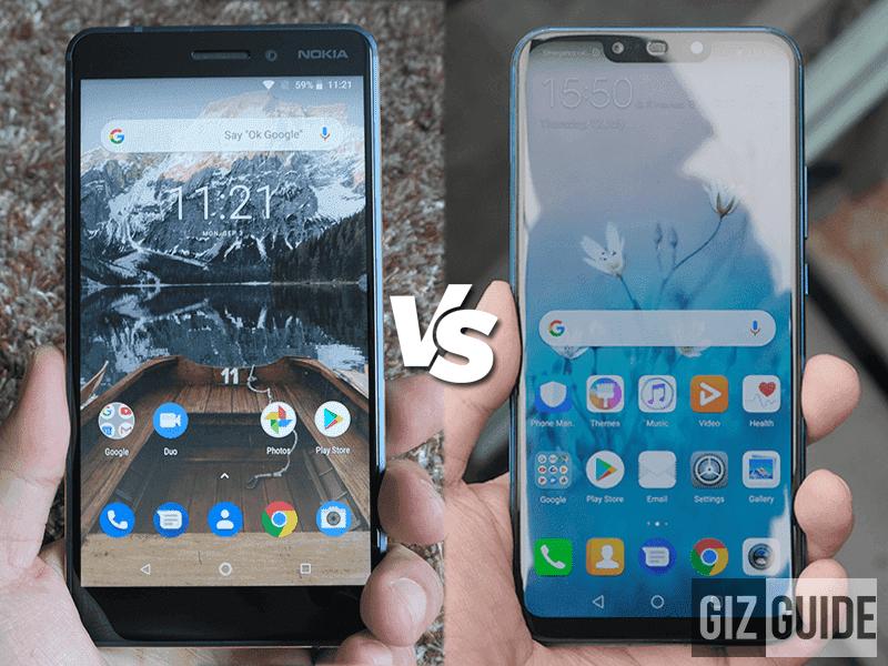 Huawei Nova 3i vs Nokia 6.1 Specs Comparison