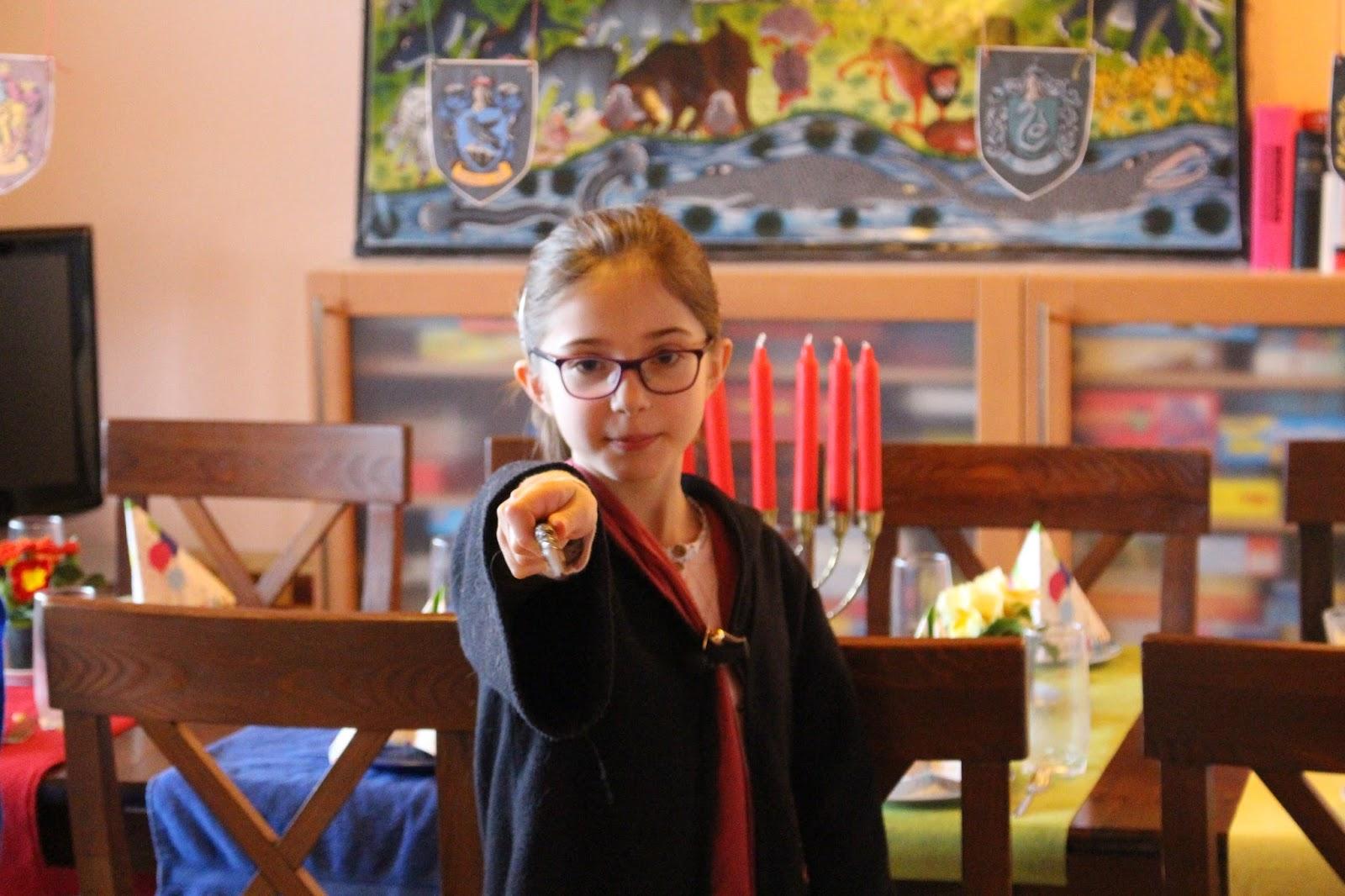 Zaubern mit Hermine Granger - Harry Potter Geburtstag