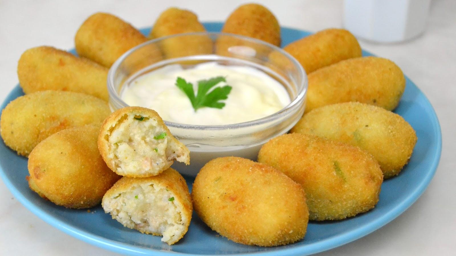 Recetas De Cocina Croquetas | Croquetas De Atun Con Patata Facilisimas Cuuking Recetas De Cocina