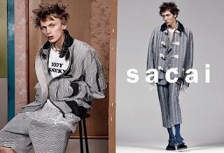 Sacai Spring/Summer 2017 Campaign