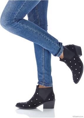Botines de mujer de moda