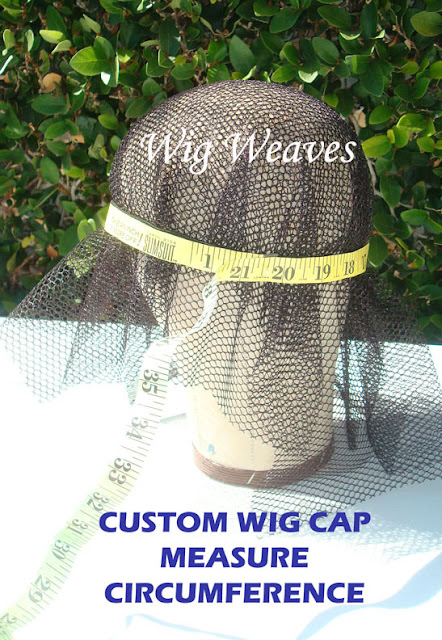 Custom Wigmaking Head Measurements