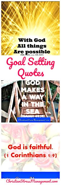 Motivational goal setting quotes from the Bible