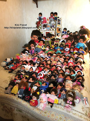 kiki monchhichi collection