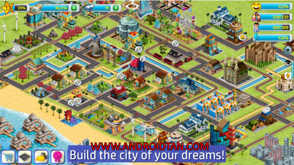 Free Download Village City Island Sim 2 Mod Apk v1.3.1 (Unlimited Money) Terbaru 2017