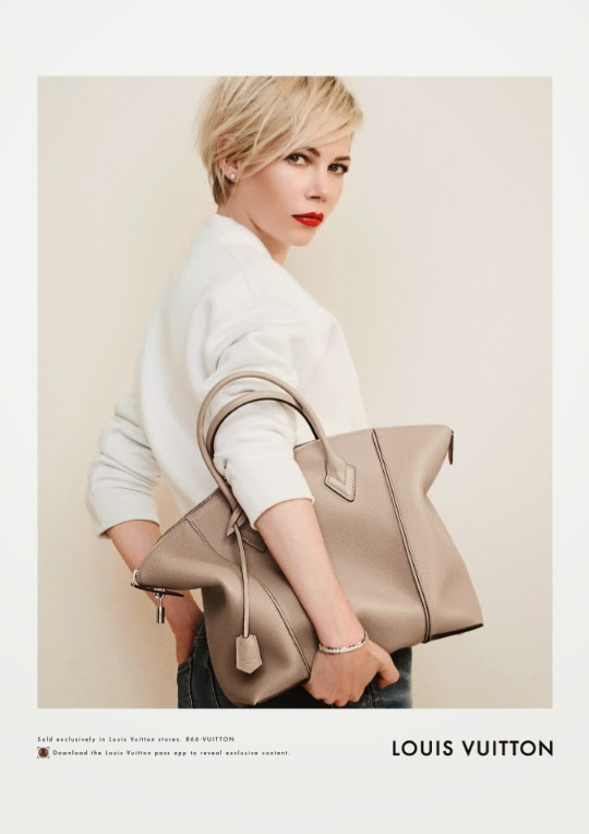 Michelle Williams Louis Vuitton 2014