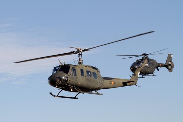 El Ejército retira el helicóptero HU-10 (Bell UH-1 Iroquois) tras 52 años de servicio