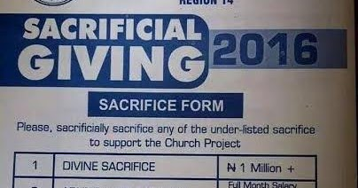 Amazing stories around the world rccg distance itself from one of its