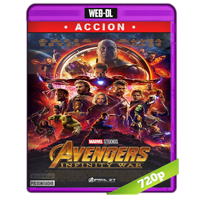 Avengers Infinity War (2018) WEB-DL 720p Audio Dual Latino-Ingles 5.1