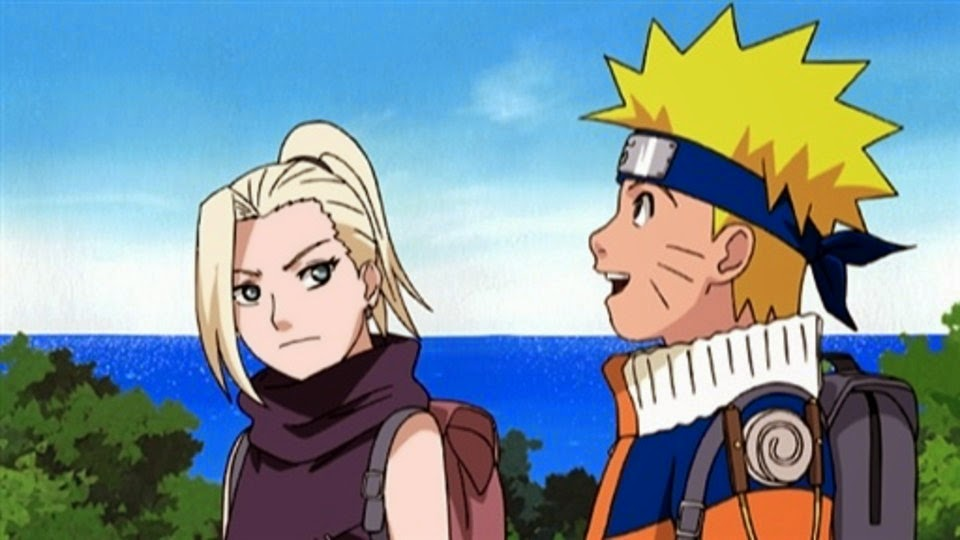 Ino y Naruto