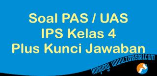 Contoh latihan soal ulangan mata pelajaran IPS kelas  45 Soal UAS PAS IPS Kelas 4 Semester 1 dan Kunci Jawaban