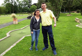 Crazy Golf at Wellholme Park in Brighouse, Yorkshire