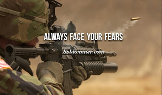 Always face your fears