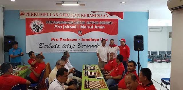 Aktivis Pro Jokowi Keok Lawan Pro Prabowo