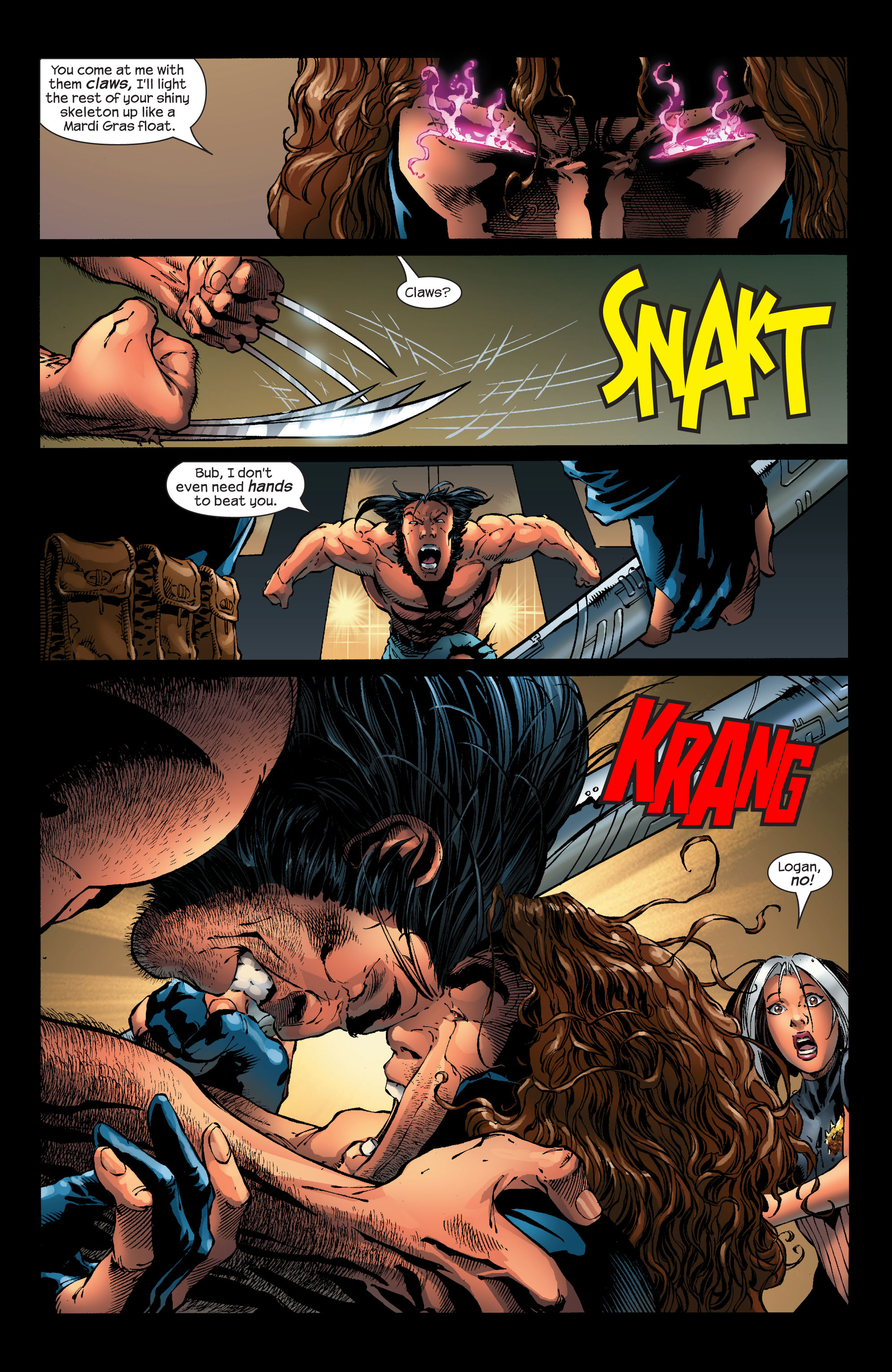 Read online Ultimate X-Men comic -  Issue #53 - 6