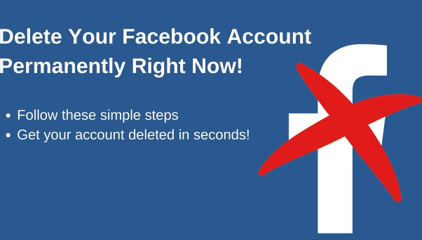 Permanently delete facebook dagreenwing you can easily shut off or completely erase your existing facebook account as a result of several reasons like you have an additional facebook account ccuart Choice Image