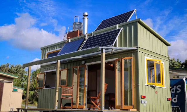 off grid tiny house