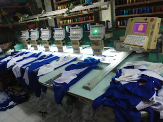 Jual Mesin Bordir Komputer Bekas merk Lungxiang, Yonthin, Feiya, Yamata, Song, Fuhao, Xiong