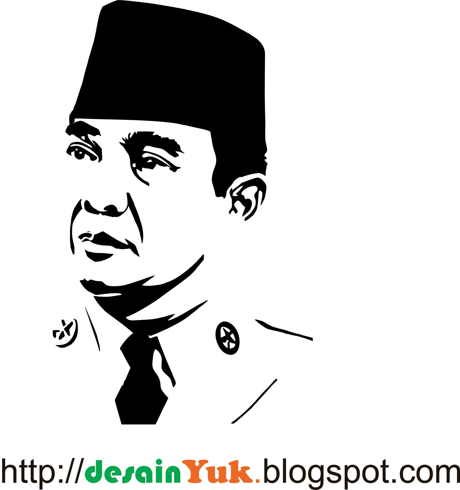 Download Vector Presiden Soekarno