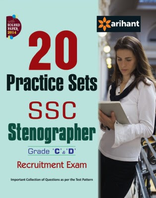 20 Practice Sets - SSC Stenographer (Grade C&D) Recruitment Exam (English) 4 Edition