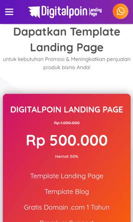 landing page blogger