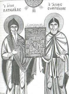 Οἱ Ὅσιοι Βαρνάβας, Σωφρόνιος καὶ Χριστόφορος 18 Αυγούστου