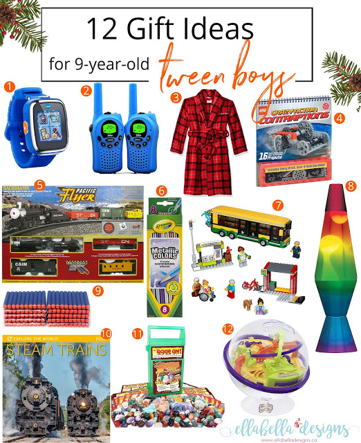 12 Gift Ideas for 9-Year-Old Tween Boys Gift Guide