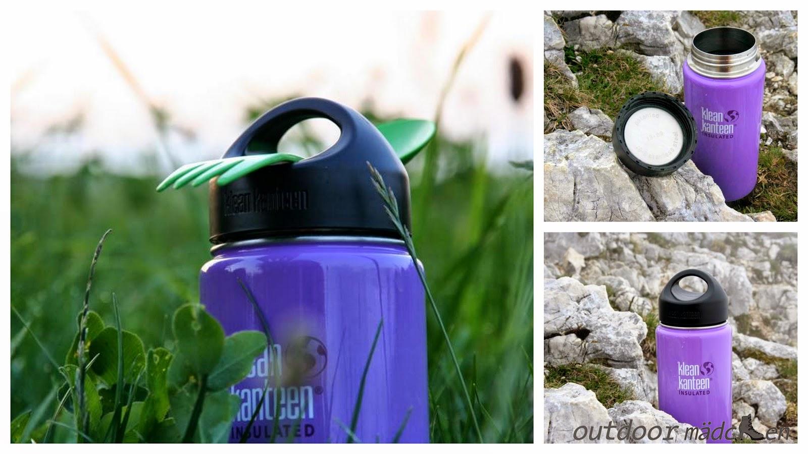 klean kanteen isolierte Flasche für Outdoor
