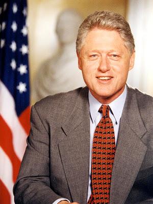 Foto de Bill Clinton sonriendo