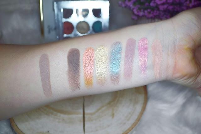 paleta do makijażu, makijaż, makeup