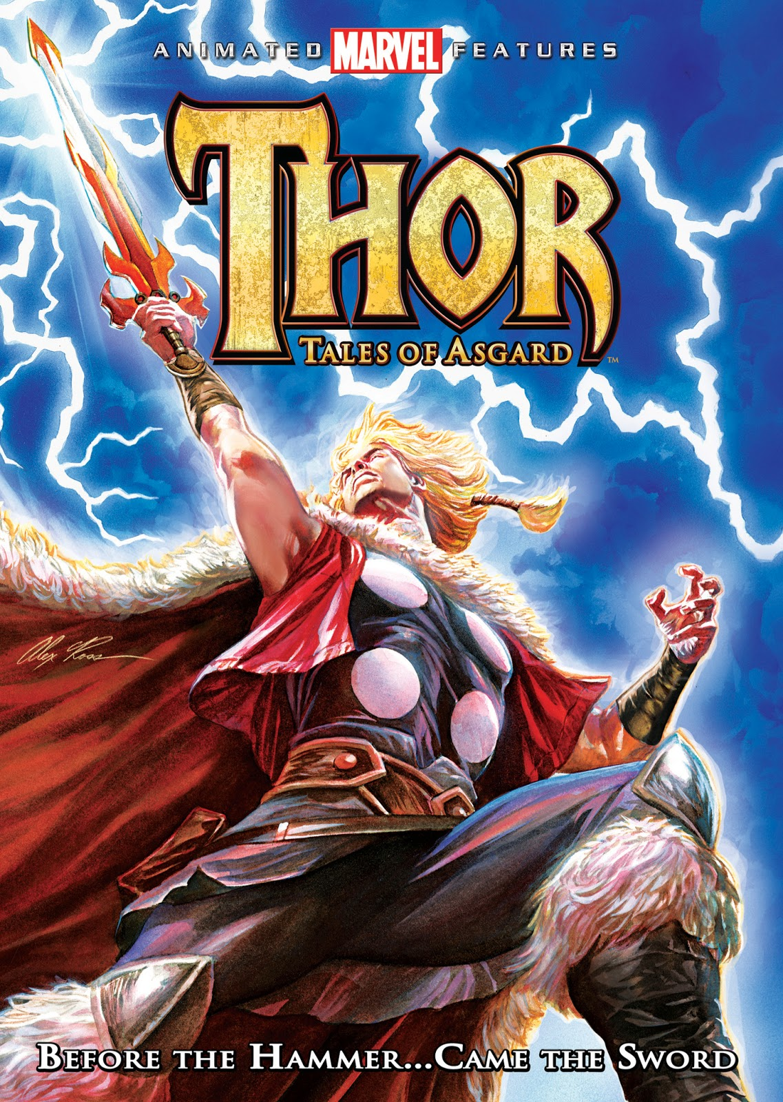 Thor: Tales of Asgard [DVD5][Latino]