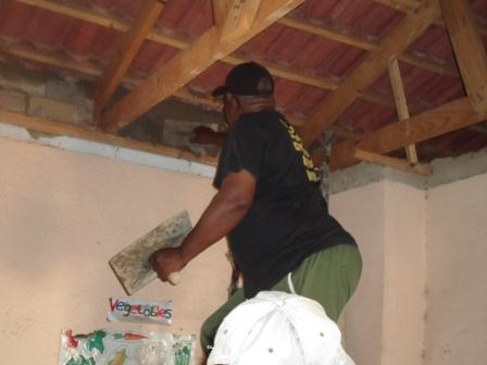 Renovations being made to the Leth'Ithemba Children's Home courtesy of Hollywoodbets Alberton - CSI - Social Responsibility