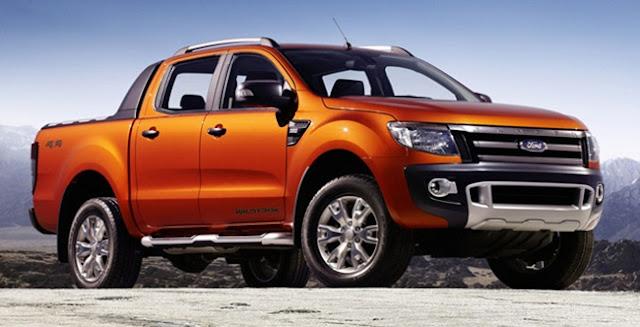 016 Ford Ranger Wildtrak UK
