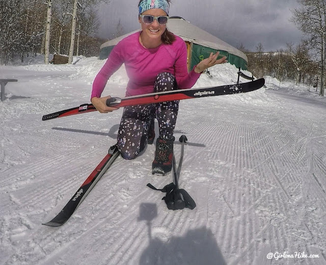 Cross Country Skiing at Sundance Nordic Center