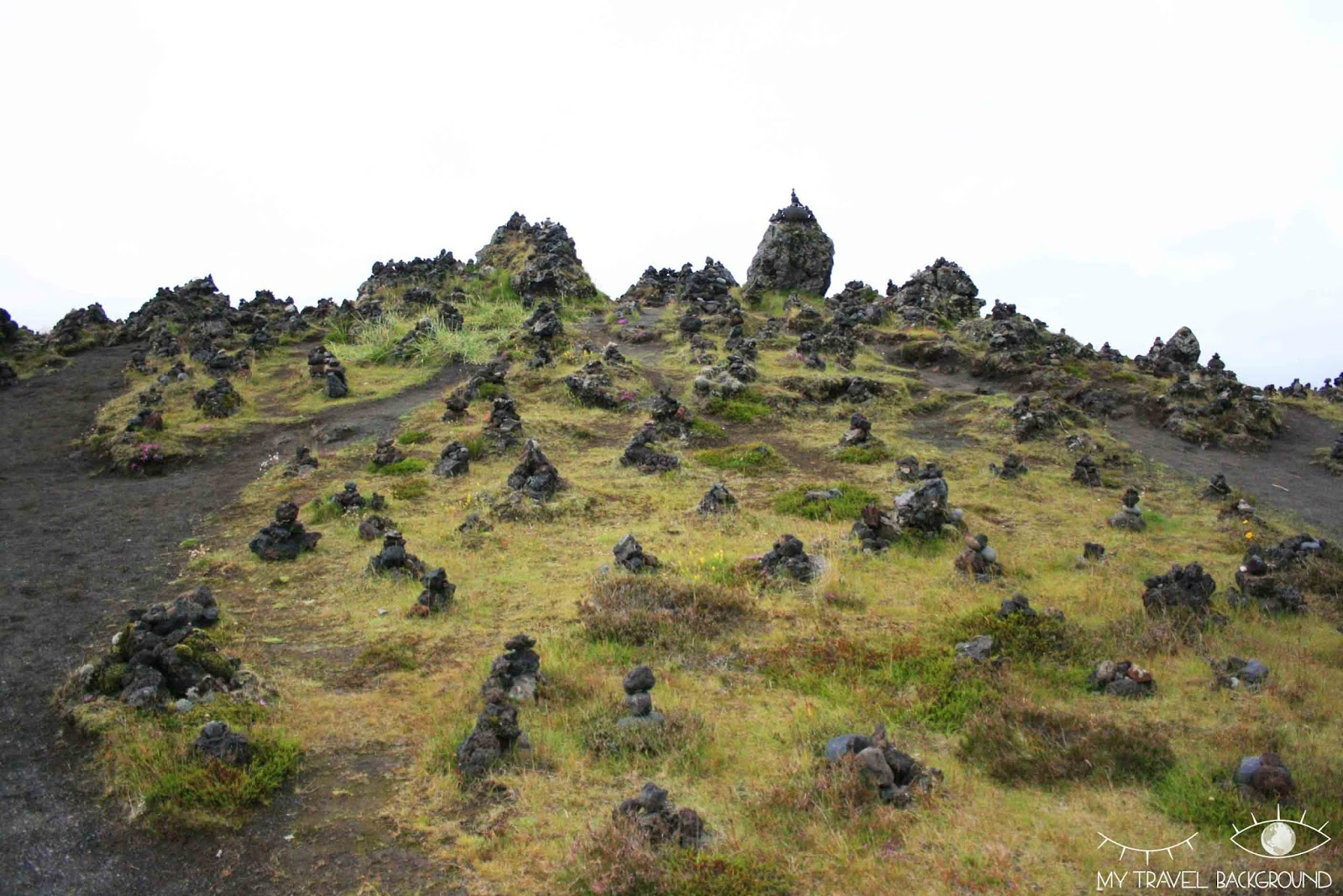 My Travel Background : le sud de l'Islande, de Vik à Höfn - les cairns de Laufskalavarda