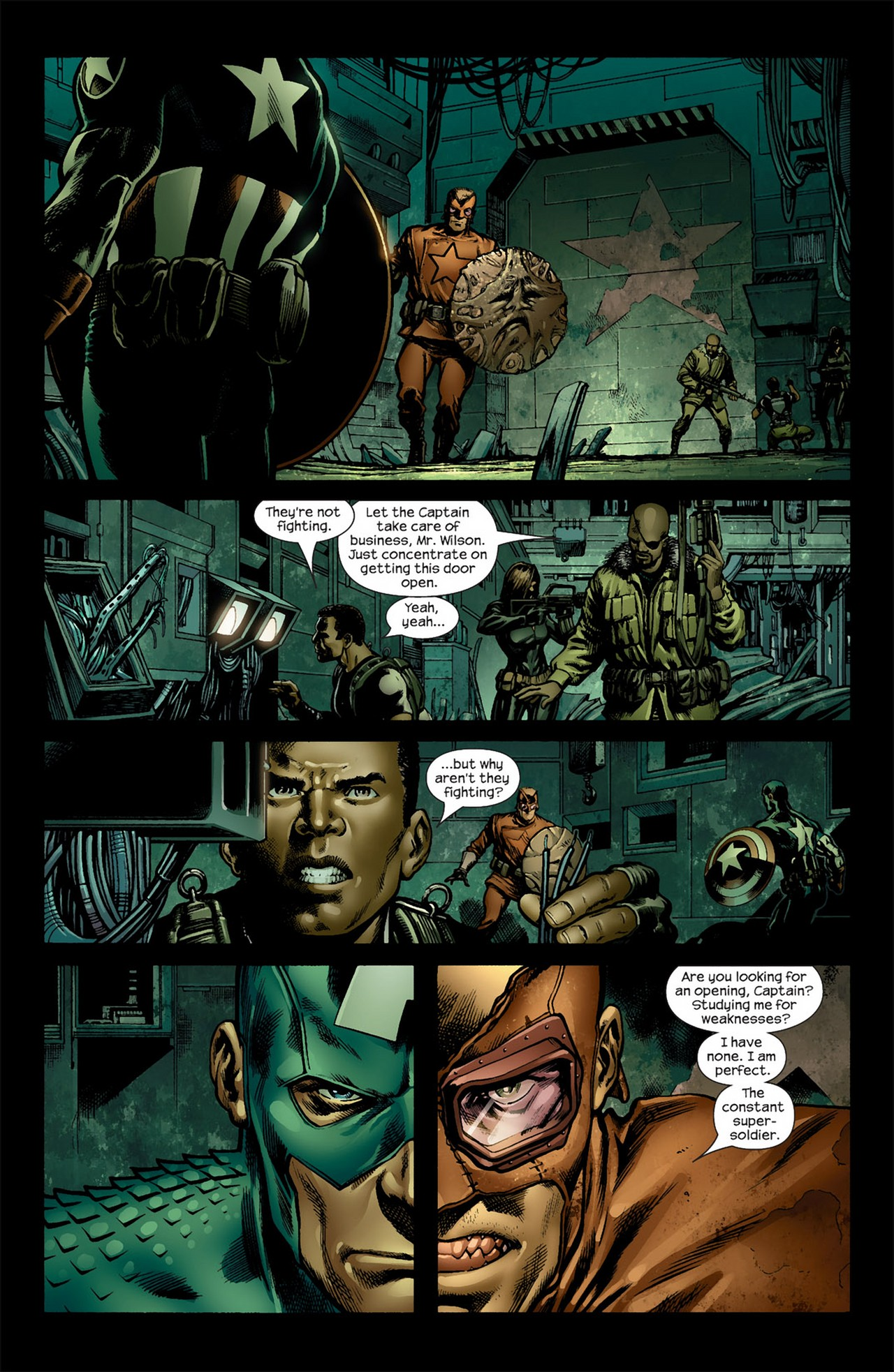 Read online Ultimate Nightmare comic -  Issue #5 - 3
