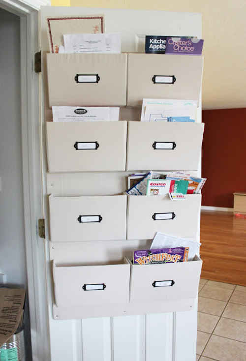 diy home sweet home more diy mail organizers to control. Black Bedroom Furniture Sets. Home Design Ideas