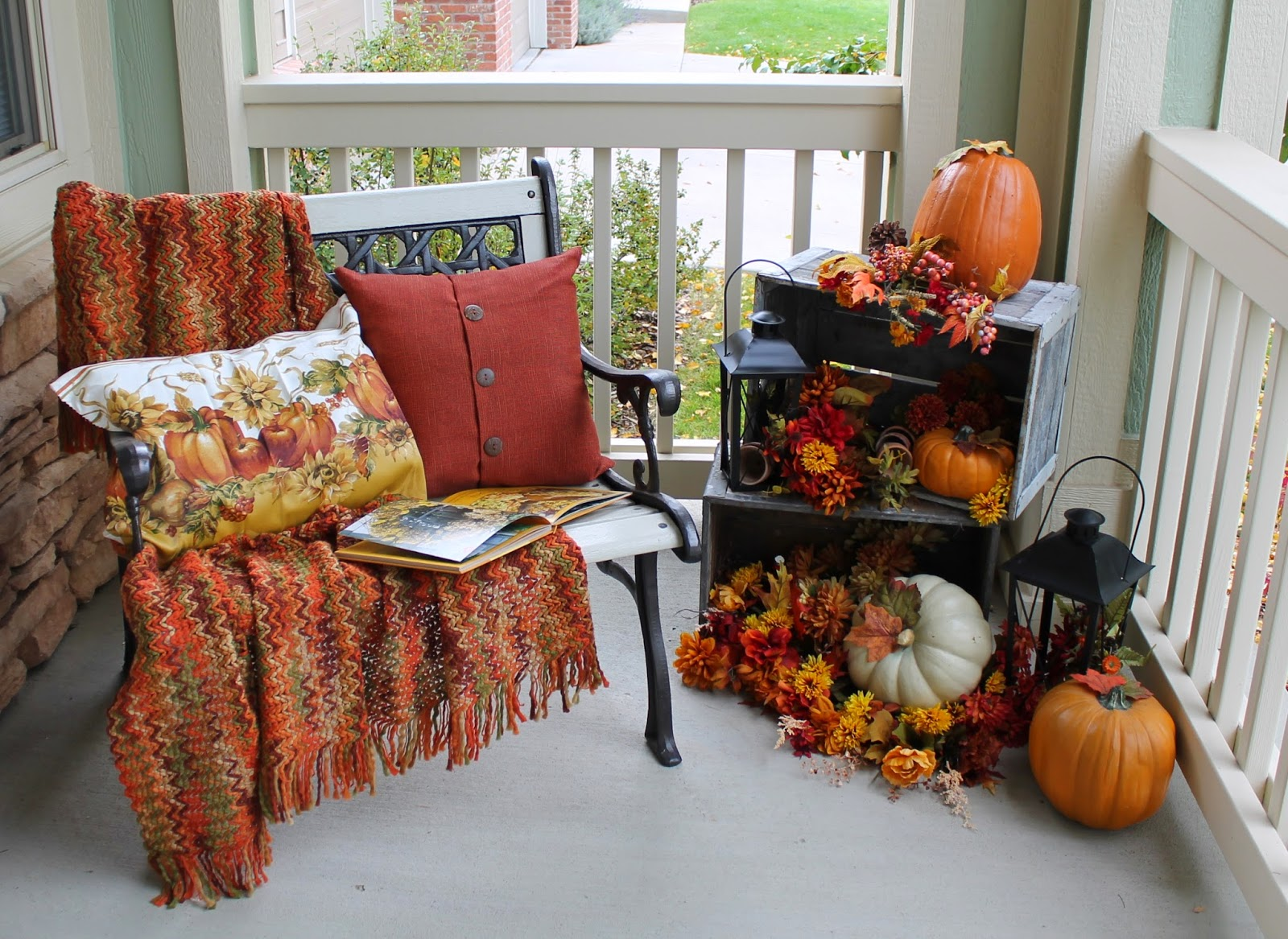 Southern Seasonz Fall Porch Falling For Fall Porch Party From My Front Porch To Yours