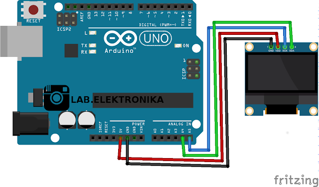 Wiring Oled 0.96 Dengan Arduino
