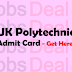 UK Polytechnic Admit Card 2017 UBTER JEEP Exam Date (Announced)
