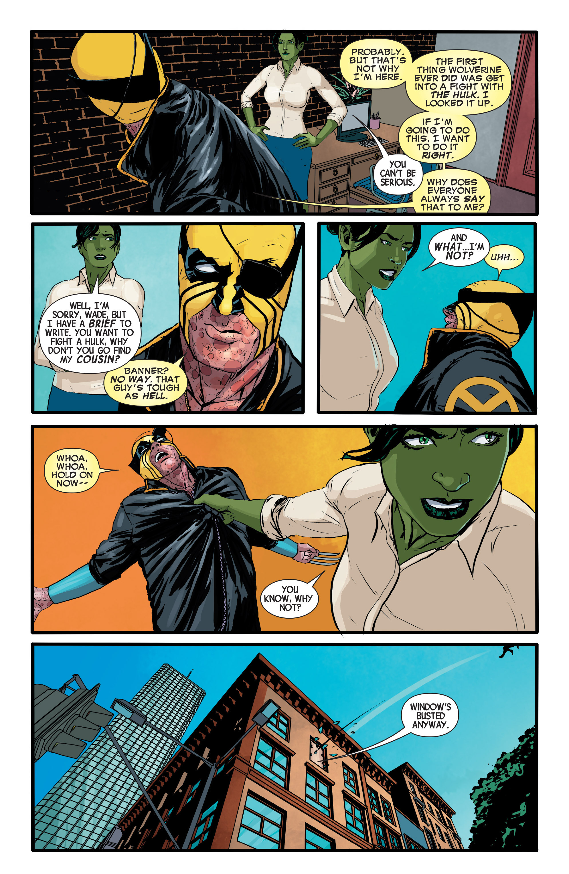 Read online Wolverines comic -  Issue #13 - 10