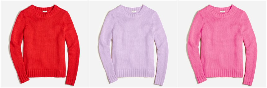 J. Crew Factory Marnie Sweater $21 (reg $70)