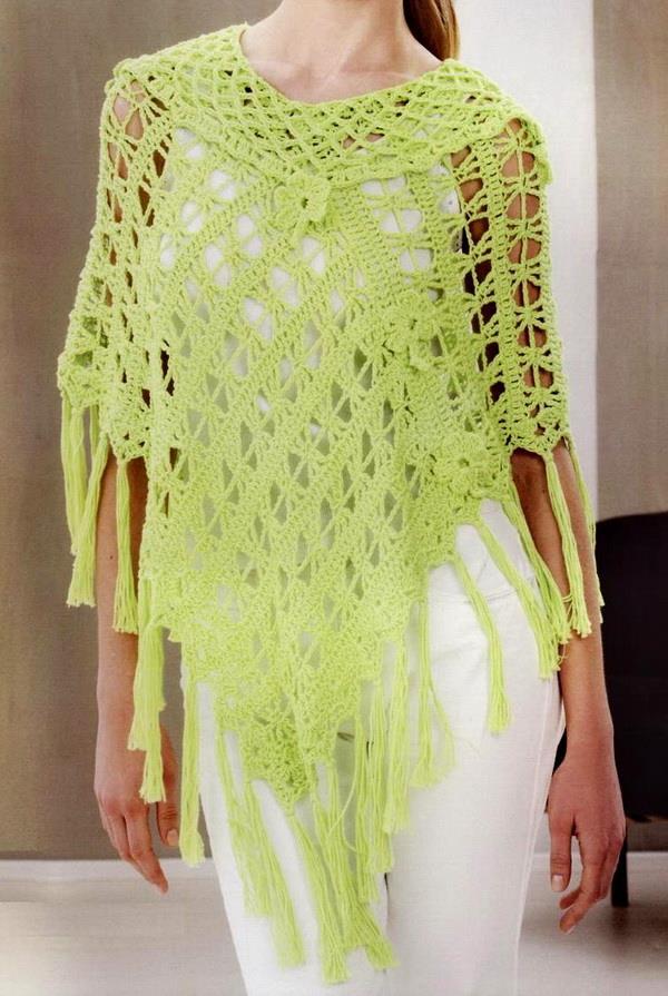 Stylish Easy Crochet Crochet Poncho Pattern Stylish Easy