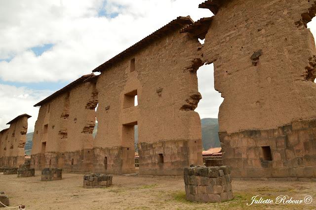 Temple de Raqchi au Pérou