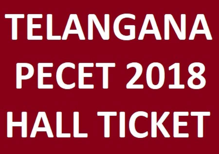 TS PECET Hall Tickets