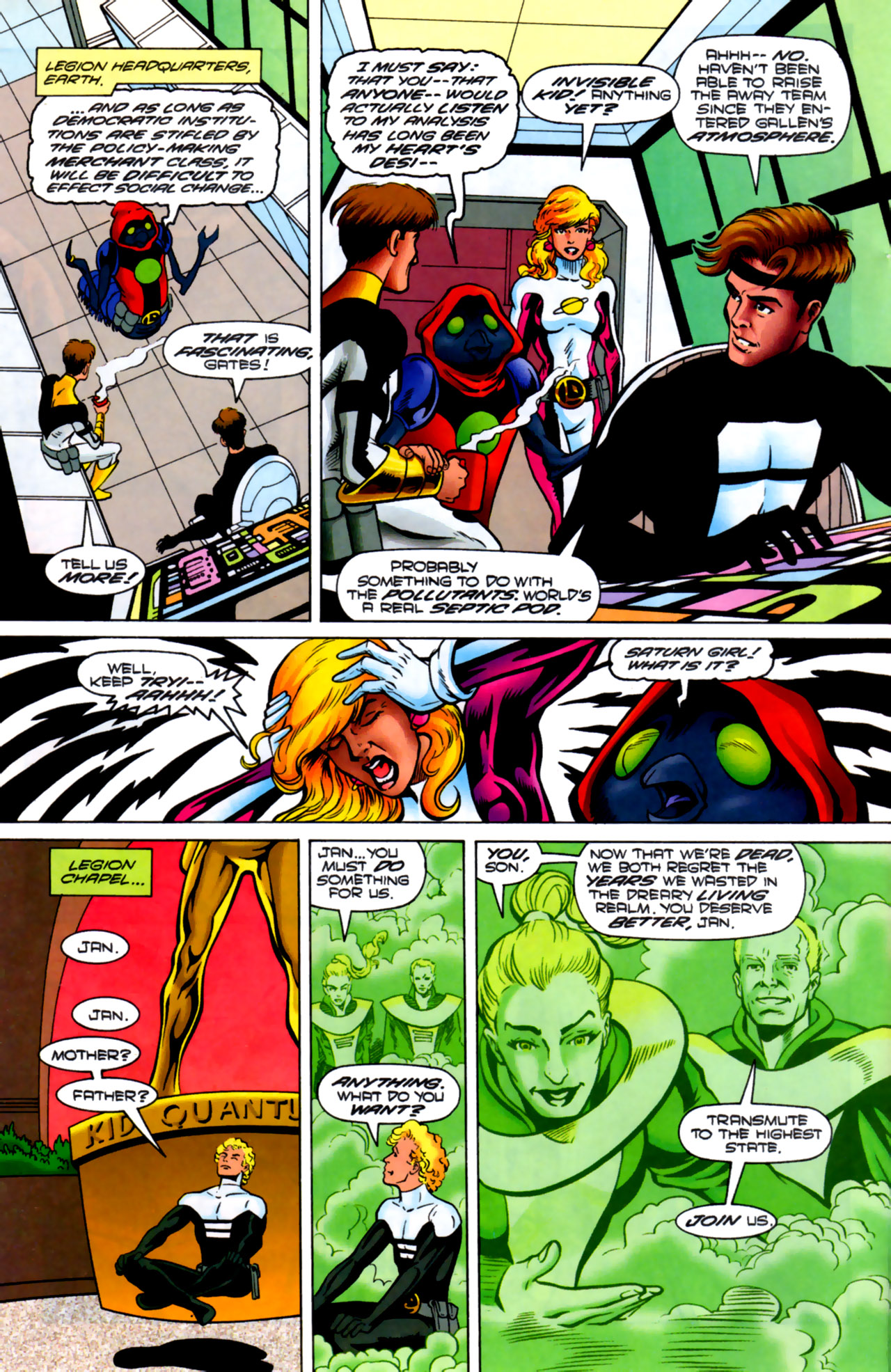 Legion of Super-Heroes (1989) 83 Page 11